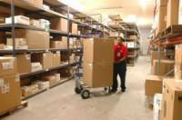 Dam fizyczną pracę w Danii przy wykładaniu towaru na półki Horsens