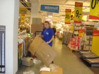 Oferta pracy w Danii bez znajomości języka przy rozładunku towaru w sklepie