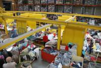 Bez znajomości języka fizyczna praca w Holandii sortowanie ubrań Moerdijk