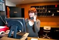 Recepcjonistka praca w Szwecji dla kobiety Malmö