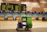 Praca w Anglii od zaraz przy sprzątaniu terminala na lotnisku Londyn