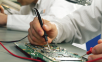 Dam pracę w Niemczech jako pracownik produkcji przy montażu elektroniki, Augsburg