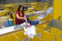 Od zaraz fizyczna praca Anglia przy sortowaniu używanych ubrań West Drayton